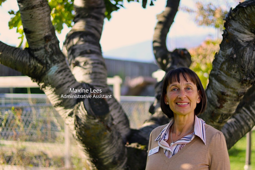 Maxine Lees – Administrative Assistant