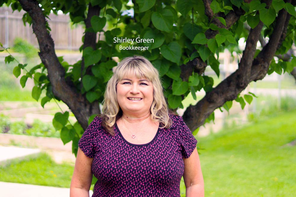 Shirley Green – HR/Bookkeeper